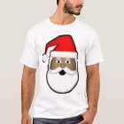 Black Santa Head T-Shirt