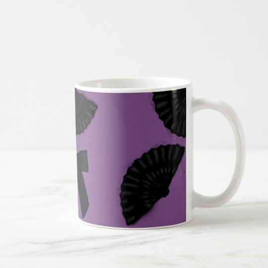 Black Satin Coffee Mug