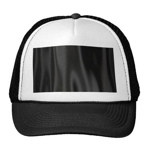 Black Satin Hats