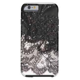 Black Satin Lace iPhone 6 case