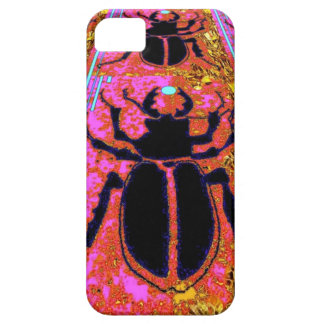 Black Scarab Bug Nature Gifts by Sharles iPhone 5 Case