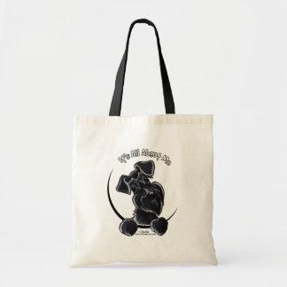 Black Schnauzer IAAM Budget Tote Bag