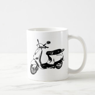 Black Scooter Coffee Mug