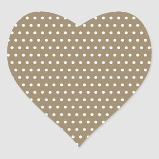 black scores polka dots scored dotted tup heart sticker