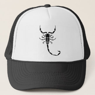 Black Scorpion Trucker Hat
