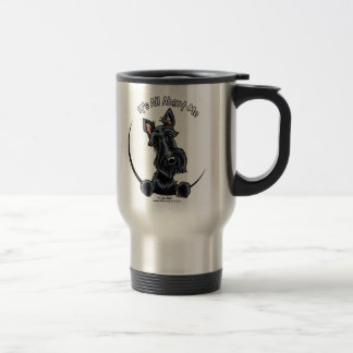 Black Scottie IAAM Travel Mug