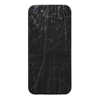 Black Scratched Aged and Worn Texture Cover For iPhone 5