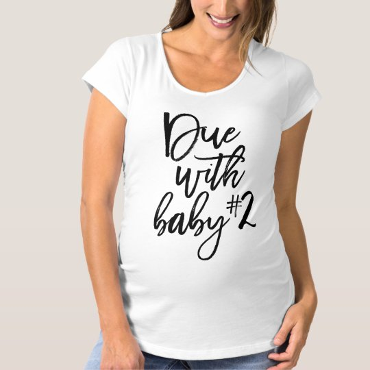Black Script Due With Baby Number 2 Maternity