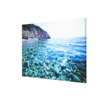 Black Sea Canvas Prints