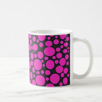 Black Sea of Hot Pink Bubbles Mug