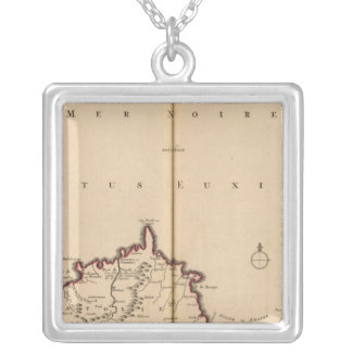 Black Sea Region Silver Plated Necklace