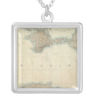 Black Sea Silver Plated Necklace