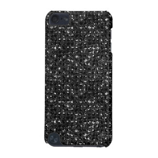 Black Sequin Effect  iPod Touch (5th Generation) Cases