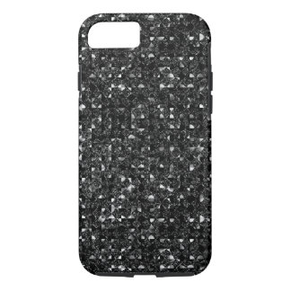 Black Sequin Effect Phone Cases