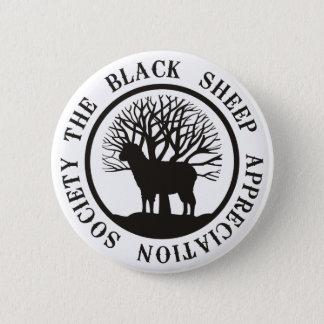 Black Sheep Appreciation Society 6 Cm Round Badge