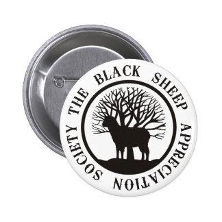 Black Sheep Appreciation Society Pinback Button