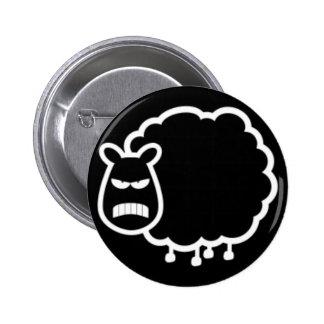 Black Sheep Pinback Buttons