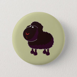 black sheep black sheep 6 cm round badge