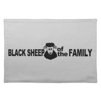 Black Sheep custom placemat