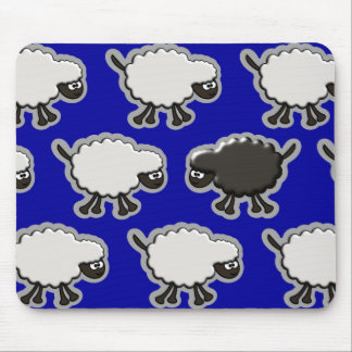 Black Sheep Design Mouse Mat