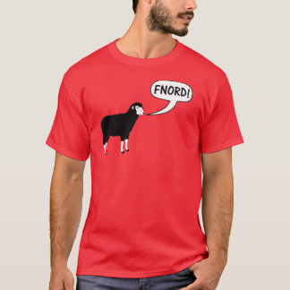 Black Sheep Fnord Discordian T-Shirt