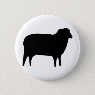 black sheep icon 6 cm round badge