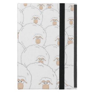 Black sheep iPad mini cover