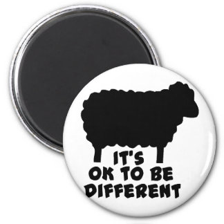 Black Sheep - It's Ok To Be Different Magnet