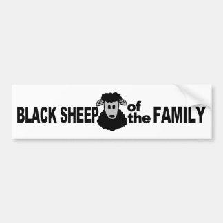 """Black Sheep of the Family"" bumpersticker Bumper Sticker"