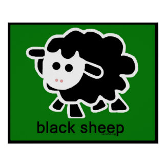 black sheep.psd poster