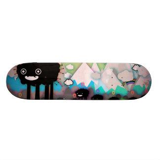 Black sheep skate board deck