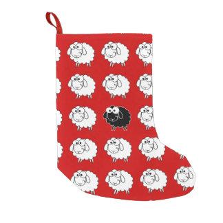 Black Sheep Small Christmas Stocking