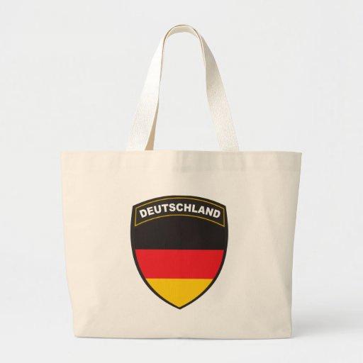 Black Shield Deutschland Tote Bag