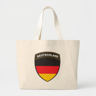 Black Shield Deutschland Jumbo Tote Bag