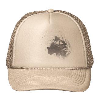 Black Shield Mesh Hat