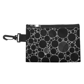 Black Shiny Bling Pattern Accessories Bags