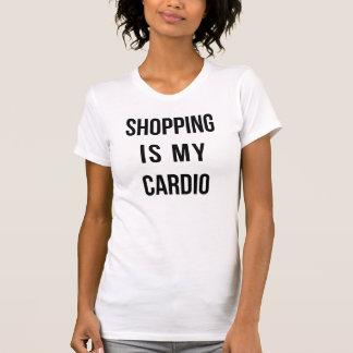 Black Shopping is my Cardio Tshirts