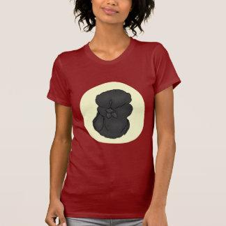 Black silkie shirt