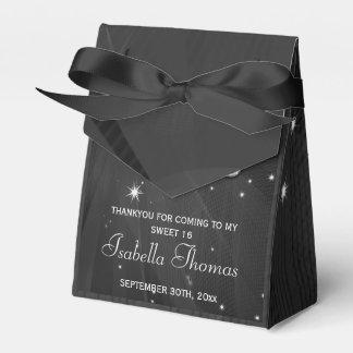 Black & Silver Disco Ball &  Heels Favor box Favour Boxes