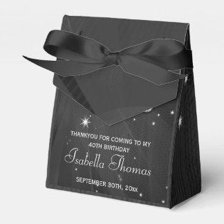 Black & Silver Disco Ball &  Heels Favor box Party Favour Box