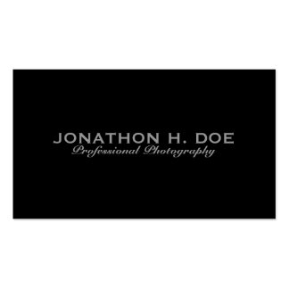 Black&Silver Professional Business Card