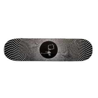black skateboard decks