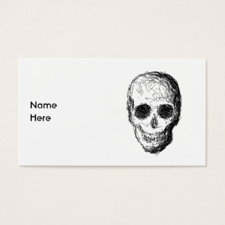Black Skull. Business Card