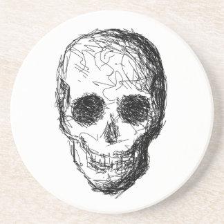Black Skull. Coaster