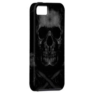Black Skull iPhone 5 Case-Mate Tough