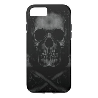 Black Skull iPhone 7 Tough iPhone 7 Case
