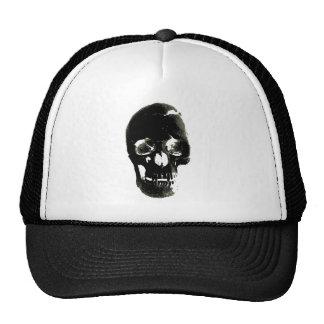 Black Skull - Negative Image Cap
