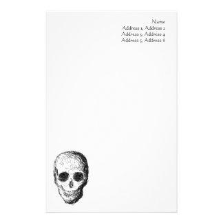 Black Skull. Stationery