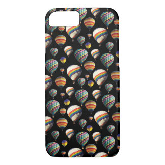 Black Sky and Hot Air Balloons iPhone Cover