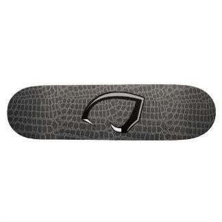 black snake skin deck only skate decks